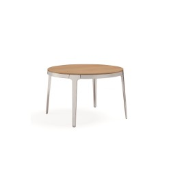 MATERIA omni table oak chrome_w