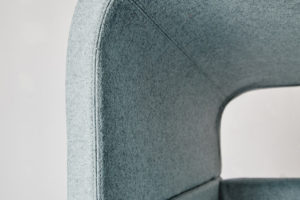MATERIA point easy chair close up