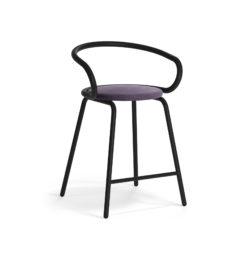 MATERIA Kaloo bar stool black black h630 vald (2)