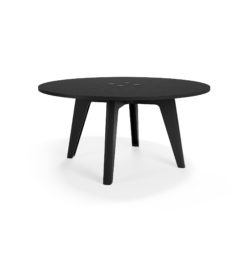 MATERIA Sumo conf table black stained ash Ø1800 h870 VALD