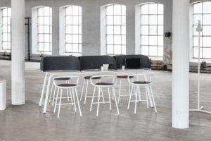 MATERIA My Place table Kaloo bar stool interior 2