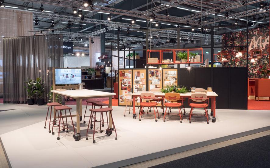 Pressemitteilung Stockholm Furniture Fair 2020.